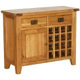 Freestanding Kitchen Unit With Wine Rack